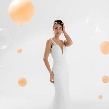 Photo : Eglantine Mariages & Cérémonies, robe Kelly