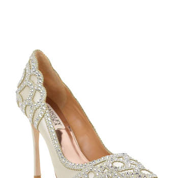 Rouge Embellished Evening Shoe, Badgley Mischka