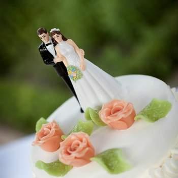 Torta de novios. Foto: Eppel Fotografie