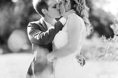 Die sommerliche Hochzeit von Nadine & Vanessa nach dem romantischen Antrag auf Island