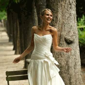 Robe de mariée Emma, vue de face - Crédit photo: Catherine Varnier