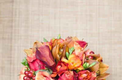 Bouquet da sposa di tulipani 2017: colore e brio per il tuo grande giorno!