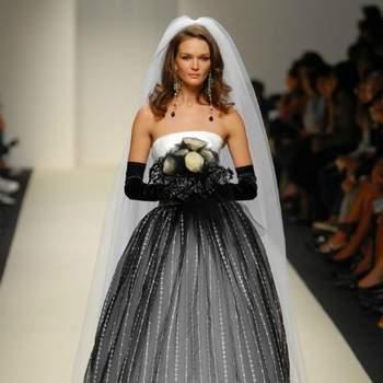 Black and white per la sposa di Lorenzo Riva