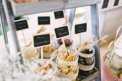 Candy-, Cocktail- oder Cookie-Bar - Wie wollen Sie sich und Ihren Gästen den Hochzeitstag versüßen?