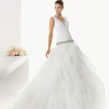 Vestido de noiva Rosa Clará 2013