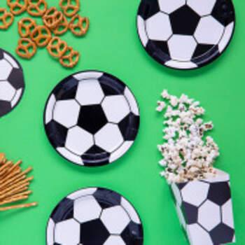 Assiettes Football 6 Pièces - The Wedding Shop !