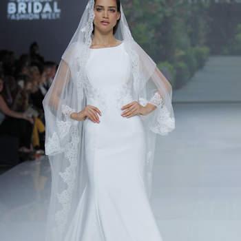 Ana Torres. Credits: Barcelona Bridal Fashion Week