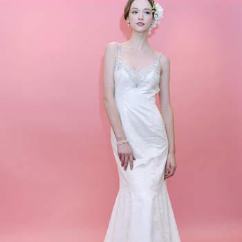 Robe de mariée ultra glamour et féminine. Badgley Mischka 2013