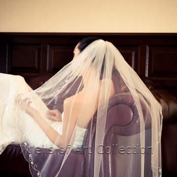 Se você busca inspiração para véus de noiva, confira esses modelos de véus encontrados no site Etsy!