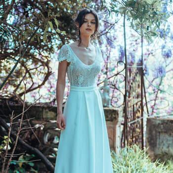 Photo : Guillaume Gilles - Elsa Gary, robe de mariée Bonheur