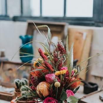 Photo : Margaux Pastor - Fleurs : Aude Rose