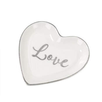Plato Corazón Love- Compra en The Wedding Shop