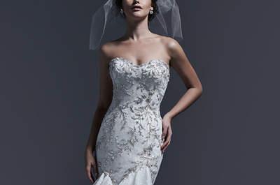 Sottero & Midgley otoño 2015: Vestidos de novia engalanados por un efecto glam fantástico
