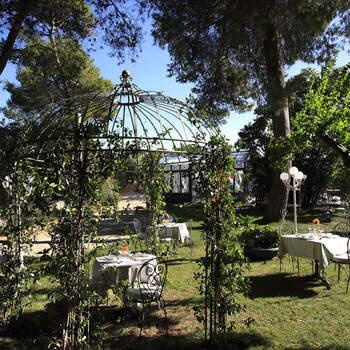 Hotel Park Novecento Resort: Allestire un giardino con gusto è facile quando già, di per sé, è incantevole.