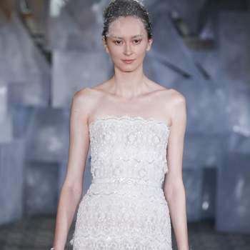 MIRA ZWILLINGER. Credits: New York Bridal FASHION WEEK April 2018