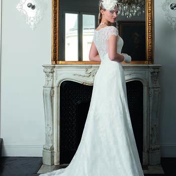 Photo : Les Mariées de Talia - Bella Créations, robe Rose-Lyne