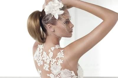 Descubre la propuesta de Pronovias: vestidos de novia con bordados para este 2015