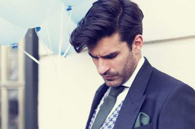 Cómo ser un novio con mucho estilo: las claves para acertar