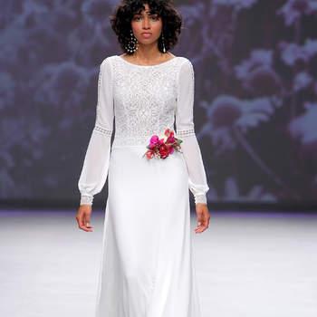 Créditos: Aire Barcelona   Barcelona Bridal Fashion Week