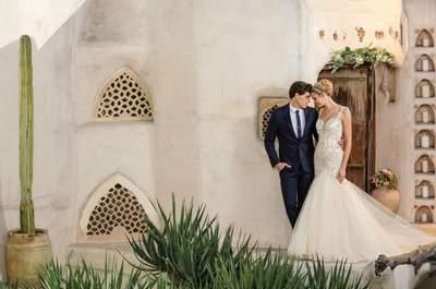 Hidden Oasis: De prachtige nieuwe collectie van Casablanca Bridal
