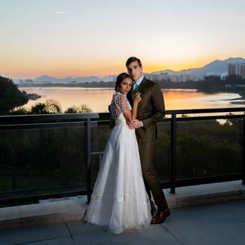 Vestido Mel Bessa e traje Sarto Cavalieri | Foto: Giovani Garcia