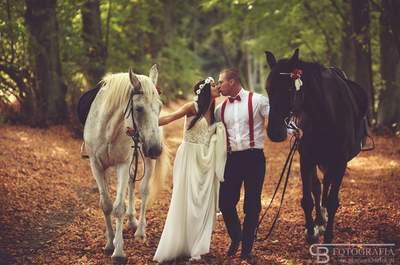 Sesja ślubna na koniach to jedno z największych marzeń niejednej Pary. Zobacz koniecznie!