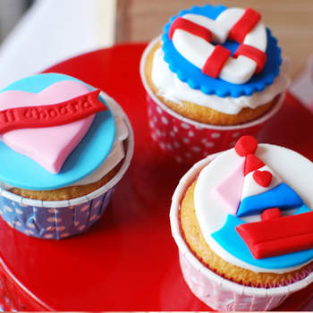 Cupcakes marins, Amy Atlas