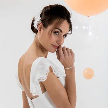 Photo : Eglantine Mariages & Cérémonies, robe Keops