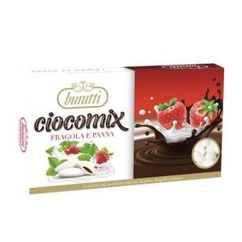 Dragées Buratti CIOCOMIX fraise et crème - Achetez sur The Wedding Shop !