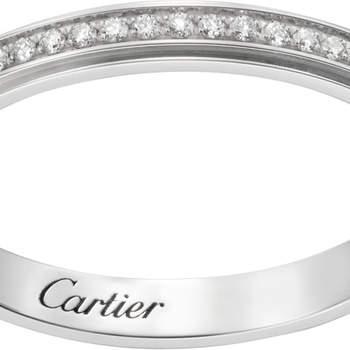 Aliança Cartier D'Amour. Créditos: Cartier