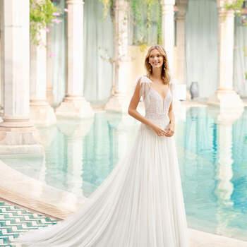 Créditos: Rosa Clará 2020 | Modelo do vestido: Romance