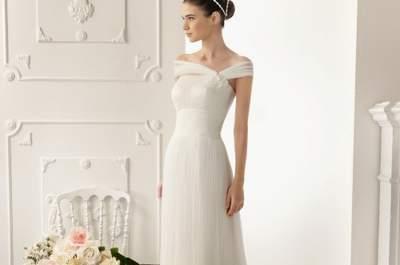 Cómo elegir el escote de tu vestido de novia