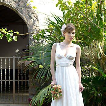 Vestido de noiva vintage.