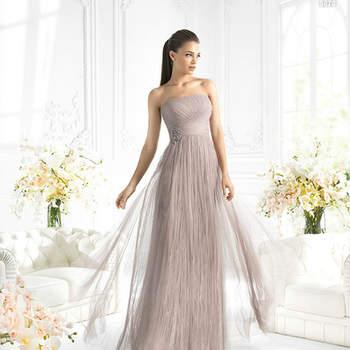Te presentamos algunos modelos de vestidos de fiesta de la casa de novias italiana La Sposa.  Fotos de La Sposa