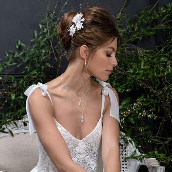 Photo : Eglantine Mariages & Cérémonies, robe Vague