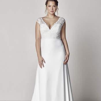 Modelo vestido Eyra da Pronovias