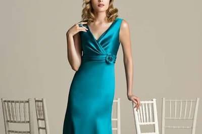 Vestidos de fiesta verdes 2016. ¡Triunfa con un color lleno de vida!