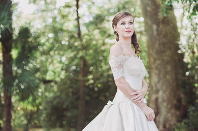 Los mejores estilos 2015 en vestidos de novia para mujeres delgadas