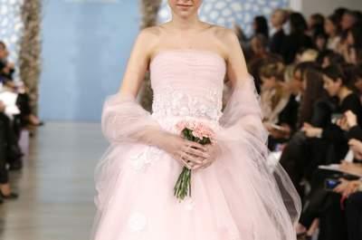 Oscar de la Renta Bridal Collection Spring/Summer 2014