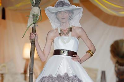 Colección vestidos de novia y fiesta Inmaculada García 2014