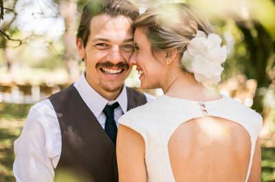 Barbara & Rafael: casamento na fazenda com decoração rústica impecável!