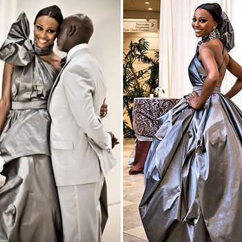 Vestidos que fogem do tradicional branco estão em alta. A moda foi aderida por diversas celebridades e seus vestidos não passam despercebidos! Veja os variados modelos cheios de cor escolhidos pelas estrelas!