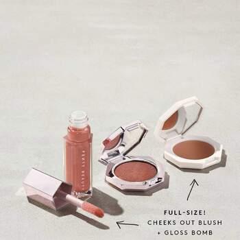 Sephora Fenty Glow Trio Face Lip & Body Set $850