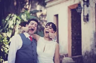 Real Wedding: Diversión a todo color en la boda de Vero y Andrés en Hacienda San Gabriel de las Palmas