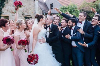 Traumhochzeit mit zarter Farbpalette – Rebekka & Christian feierten eine Open-Air-Hochzeit