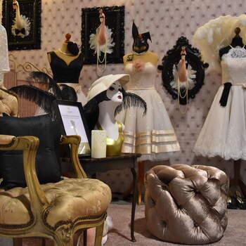 Foto: PowderRoom's Vintage Wedding Boutique