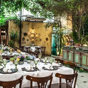 Local: Restaurante Rosmarino | Foto: Olhar de Criação
