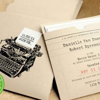Faire-part de mariage vintage Boutique PapierLapin sur Etsy.com