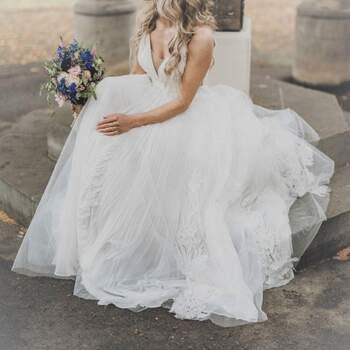 Second Hand Brautkleid, erhältlich im Onlineshop. ID: 323310