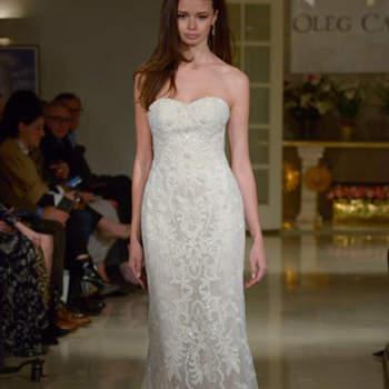 Kleid von OlegCassini, Credits:  New York Bridal Week
